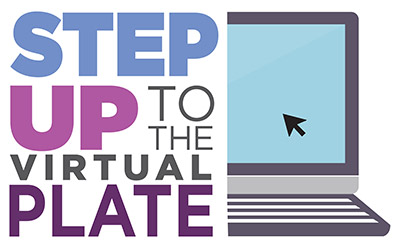 Step Up To The Virtual Plate Logo